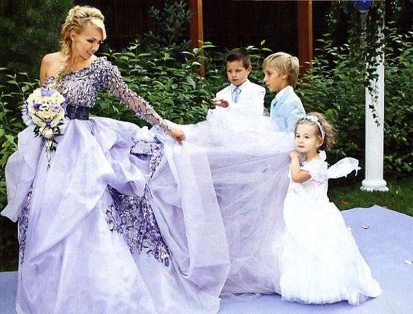 Платье рудковской свадебное