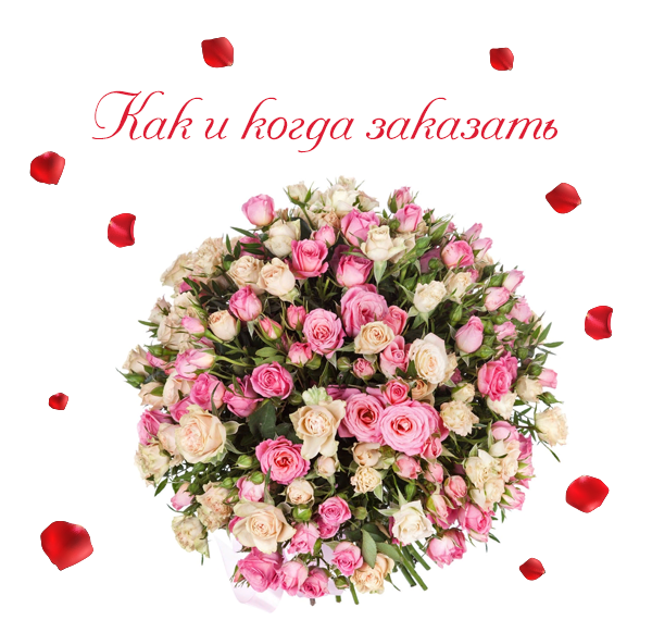 Фото заказанных кустовых роз