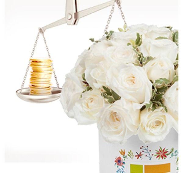 Картинка на тему цены на белые розы