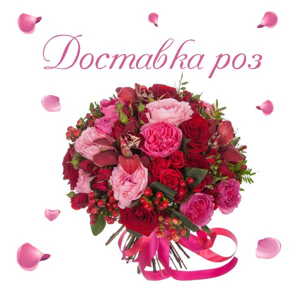 Фото доставленных роз