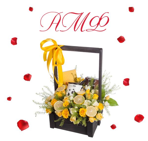 Фото желтых роз от компании по доставке цветов AMF