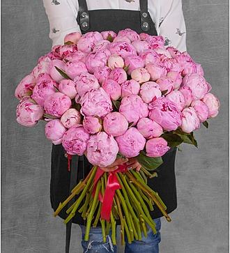 """Букет пионов """"Sarah Bernhardt"""" (15, 31 или 61 пион)"""