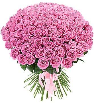 """Букет из 101 розы """"Облако чувств"""""""