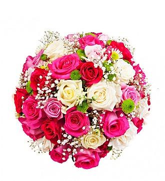 """Букет с розами """"Для любимой"""""""