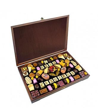 """Конфеты ручной работы из бельгийского шоколада """"Для избранных"""""""