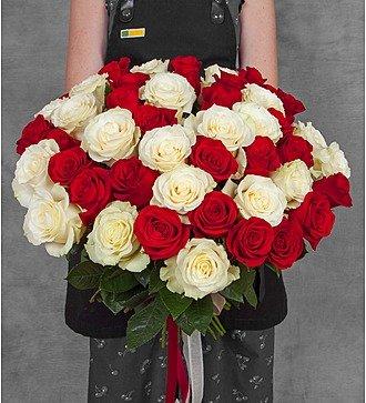 Букет эквадорских роз (25, 51, 75 или 101)