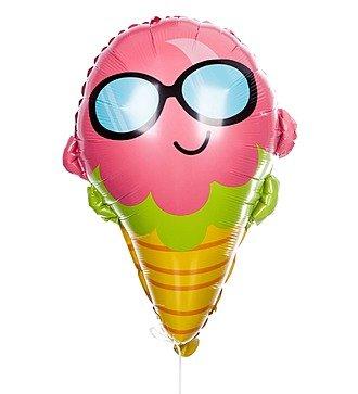 """Воздушный шар """"Мороженое в очках"""" (58см)"""