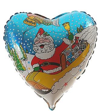 """Воздушный шар """"С Новым Годом!"""" (45см)"""