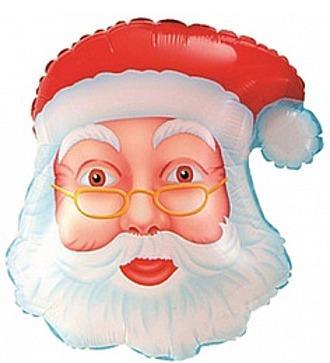 "Воздушный шар ""Дед Мороз"" (48 см)"