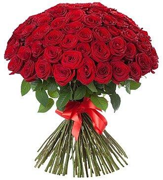 """Букет из 101 розы """"Царский подарок"""""""