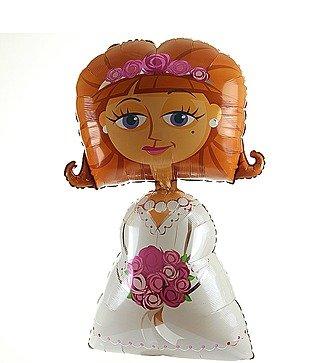 """Воздушный шар """"Невеста"""" (121 см)"""