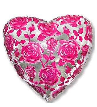 """Воздушный шар """"Розовые розы"""""""