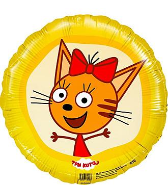 "Воздушный шар ""Три Кота. Карамелька"" (46 см)"