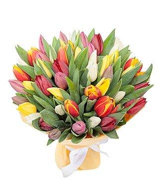 Букет из тюльпанов «Понравится всем» (31 или 51)