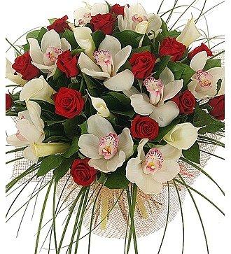 """Букет """"Москва, розы, мечты..."""""""