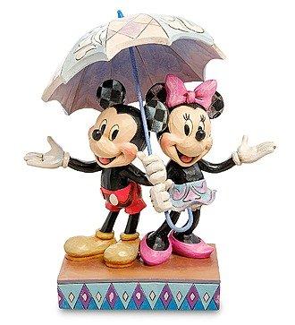 "Фигурка ""Микки и Минни с зонтом. Романтика под дождем"" (Disney)"