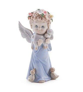 "Статуэтка ""Ангел c овечкой"" (Pavone)"