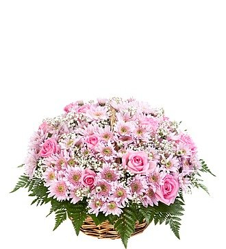 """Корзина цветов """"От принца"""""""