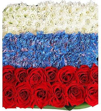 """Композиция """"Флаг России"""""""