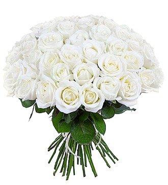 Букет из белых роз (25, 51 или 75)