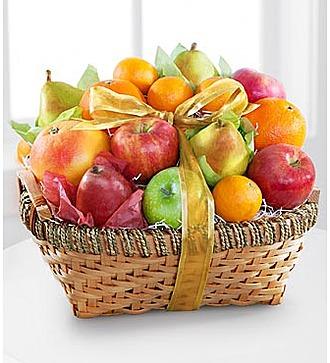 Подарочная Кошерная корзина с фруктами