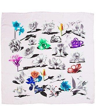 Шелковый платок Christian Dior (Италия, 50х50 см)