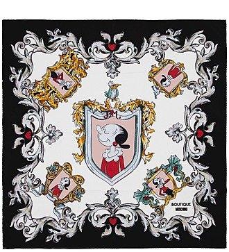 """Шелковый платок MOSCHINO """"Classic"""" (Италия, 50х50 см)"""