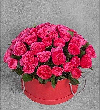 """Композиция из 51 розы """"Baronessa"""""""