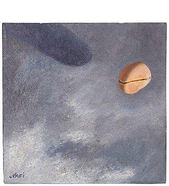 "Картина NAFI ""Этюд №1"" 1990г. ( холст, масло. 53*53 см)"