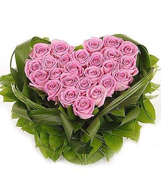 """Композиция """"Твой навсегда"""" (25 или 51 роза)"""