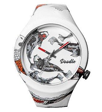 """Часы Doodle """"Рыбы"""""""
