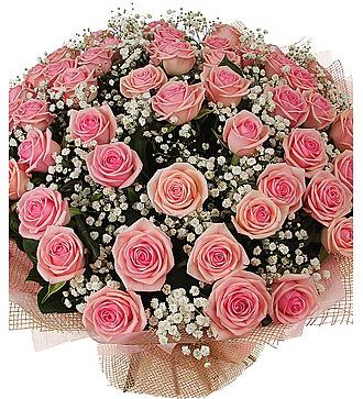 """Букет из 51 розы """"Самые весенние розы"""""""