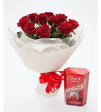 """""""Подарок дня"""" (букет и коробка конфет)"""