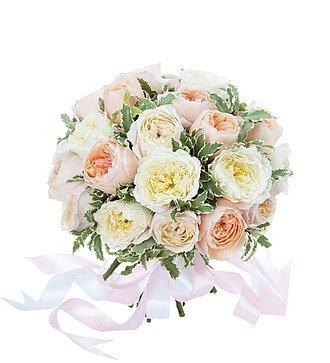 """Букет из 25 английских роз """"David Austin"""""""