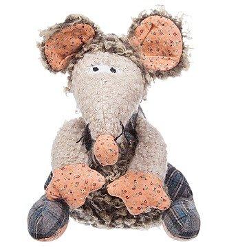 """Мягкая игрушка """"Мышка Томас"""" (27 см)"""