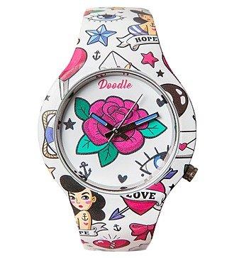 """Часы Doodle """"Роза"""""""