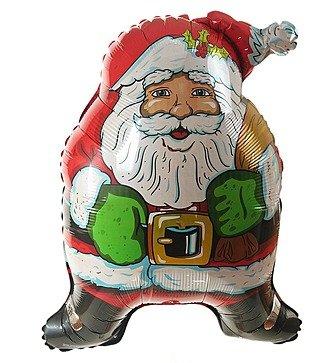 "Воздушный шар ""Дед Мороз"" (91см)"