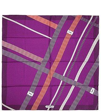 Шелковый платок Salvatore Ferragamo (Италия, 70х70 см)