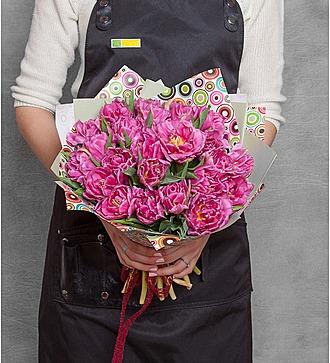 Букет тюльпанов Double Price (15, 25 или 51)