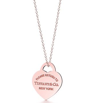 "Колье ""Heart Tag Pendant"" Tiffany"