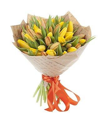 "Букет ""Краски весны"" (25, 51 тюльпан)"