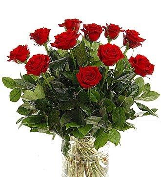 """Букет из 11 красных роз """"Флирт с мечтой"""""""