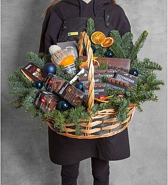 "Подарочная корзина ""Запах шоколада"""