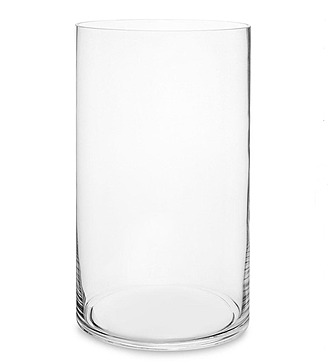 Ваза-цилиндр стеклянная (35 см)