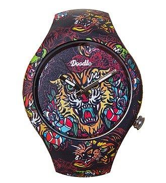 """Часы Doodle """"Восточный тигр"""""""