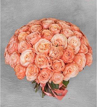 """Букет эксклюзивных роз """"Kahala"""" (51 или 101 роза)"""