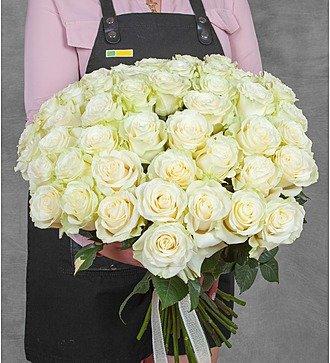 Букет эквадорских роз Mondial (25, 51, 75 или 101)
