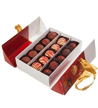 """Набор шоколадных конфет """"Фруктовый сундучок"""""""