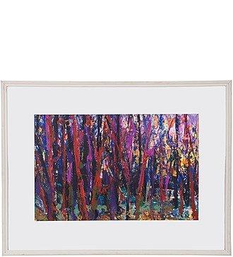 "Картина В.П. Тюрин ""Лес"" 1990г. (60*80см.)"