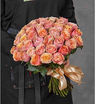"""Букет роз """"Wild Look"""" (25, 51 или 101 роза)"""